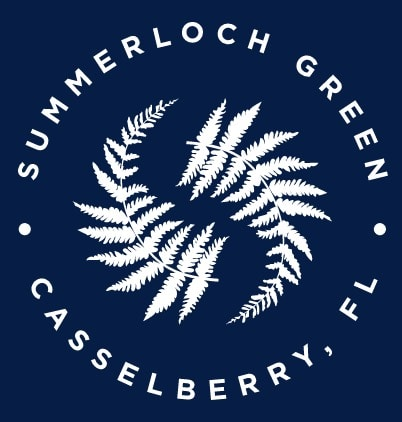 Summerloch Green Badge Logo